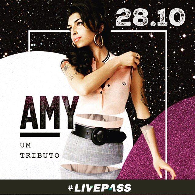 Celebrando os 10 anos do #lançamento do #álbum #BacktoBlack, que mudou a história recente da #música #pop, a #festa #tributo à #AmyWinehouse acontece no #CineJoia dia 28 de #outubro, #sexta-feira. Ingressos no #site da #Livepass !!!