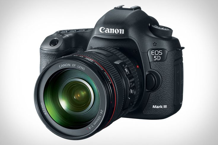 "Canon EOS 5D Mark III ($3,500): ""At its heart lies an all-new 22.3-megapixel full-frame sensor that delivers stellar images up to ISO 102,400, and it's augmented by the new, blazing fast DIGIC 5+ processor for 6 fps shooting, a 61-point AF system, Oscar-worthy 1080p video recording, a built-in HDR mode, and a rugged magnesium alloy body with a stainless steel mount — all of which ensure that you get the shot you need, no matter the time of day, weather, or situation."""