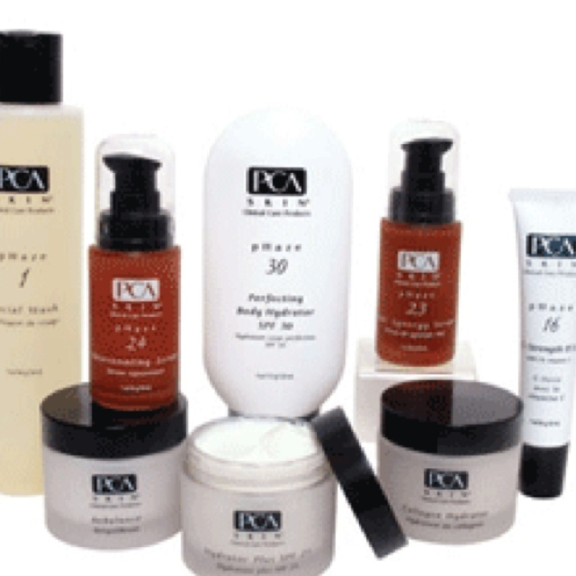 PCA skin care. The BEST stuff on earth!!