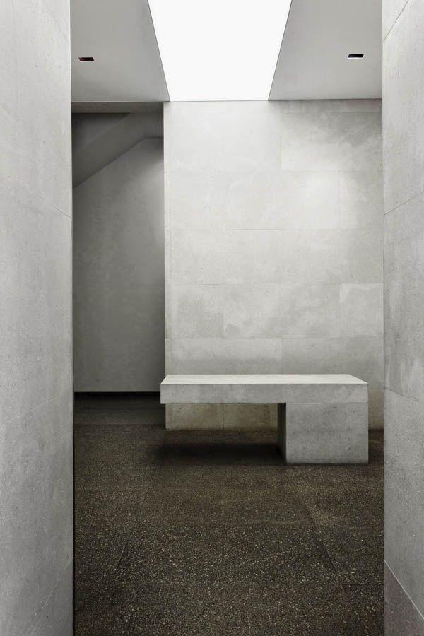 concrete, light, brutal