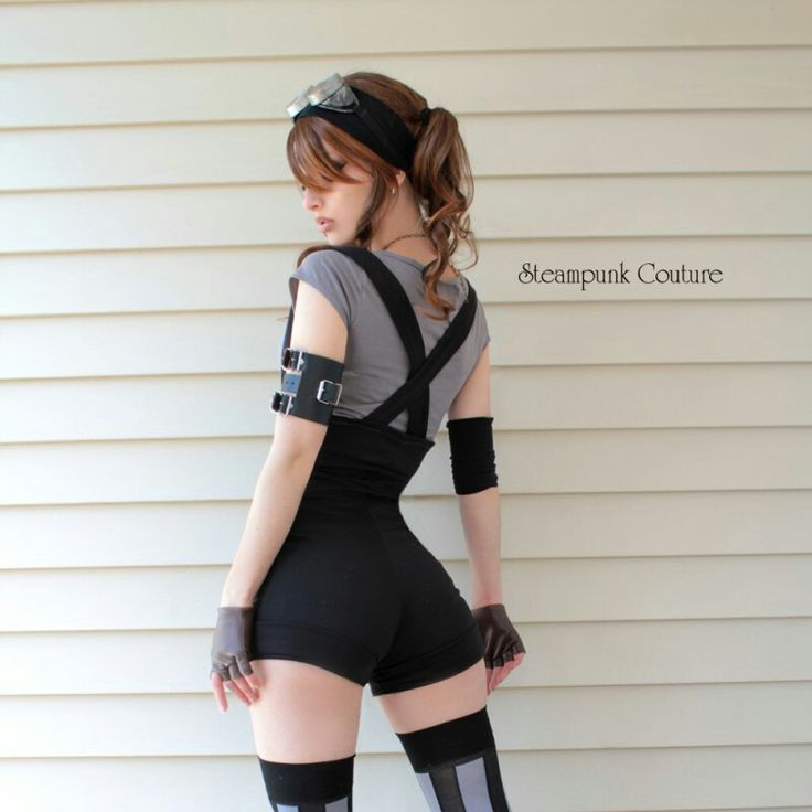 Steampunk fashion couture