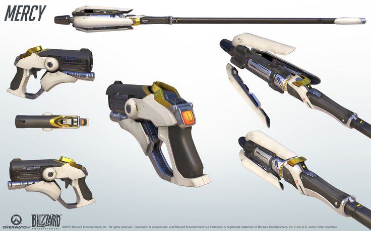 Mercy overwatch weapon
