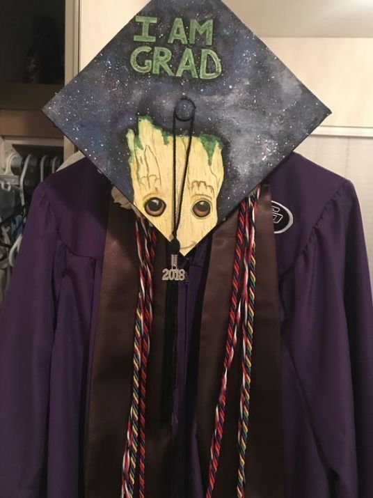 10 Graduation Cap Decorations That You're Going To Want To Try – #decorations #going #graduation – #new