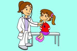 Uma criança a ser consultada.