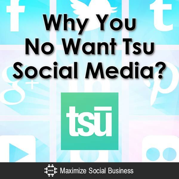 Why You No Want Tsu Social Media? #tsu