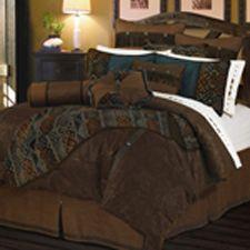 Del Rio Southwestern Bedding Comforter Set and Accessories