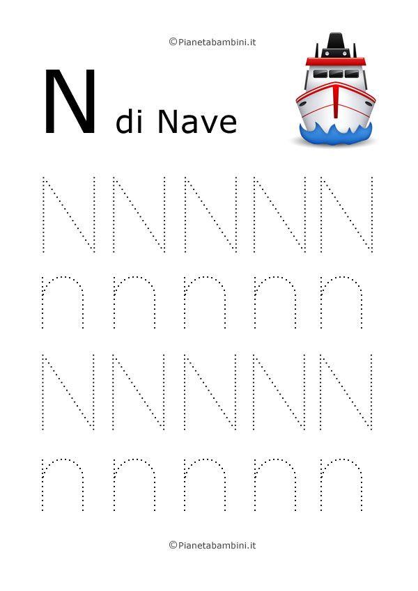 Disegni tratteggiati per imparare a scrivere le lettere dell'alfabeto maiusc...