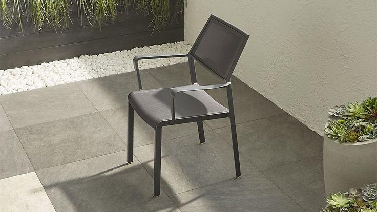 "Largo Charcoal Grey Mesh Dining Chair 26""w x 29""d x 35.5h 99.00"