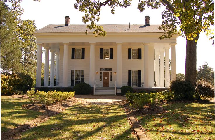 "ANTEBELLUM means ""before war"" in Latin. The term Antebellum refers to elegant plantation homes built in the American South during the 30 years or so preceding the Civil War.    Antebellum is not a particular house style. Rather, it is a time & place in history.     Most Antebellum homes are in the Greek Revival, Classical Revival, or Federal style: grand, symmetrical, and boxy, with center entrances in the front and rear, balconies, and columns or pillars."