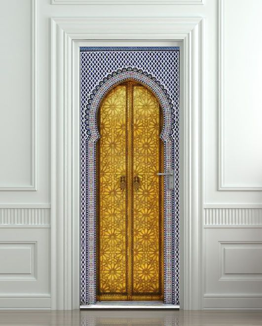 ... Medieval Eastern Asian door portal Morocco Aladdin Scheherazade town mural decole film self-adhesive poster Amazing illusion for your interior - wall or & 697 best Amazing illusion for your interior - wall or door! images ... pezcame.com