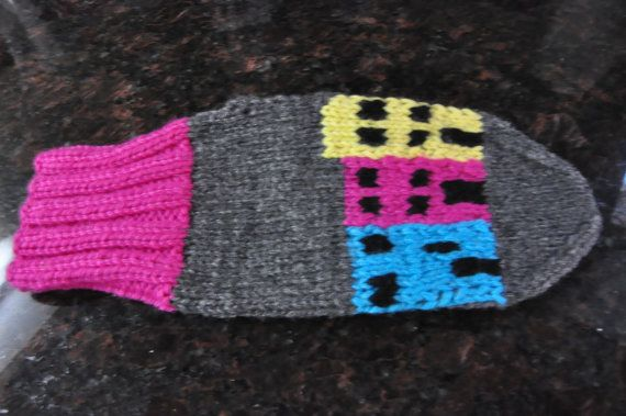 Hand Knit Newfoundland Mittens by HeadtoToeKnits on Etsy, $25.00