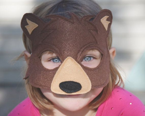 Hey, I found this really awesome Etsy listing at https://www.etsy.com/listing/294320911/handmade-felt-bear-mask