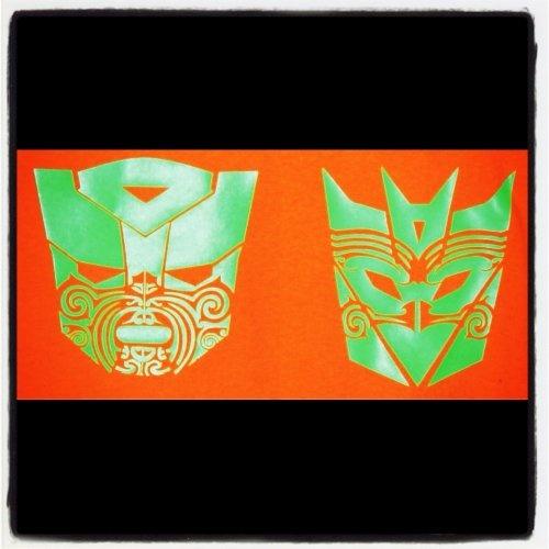 Maori-Bots - Lime Green
