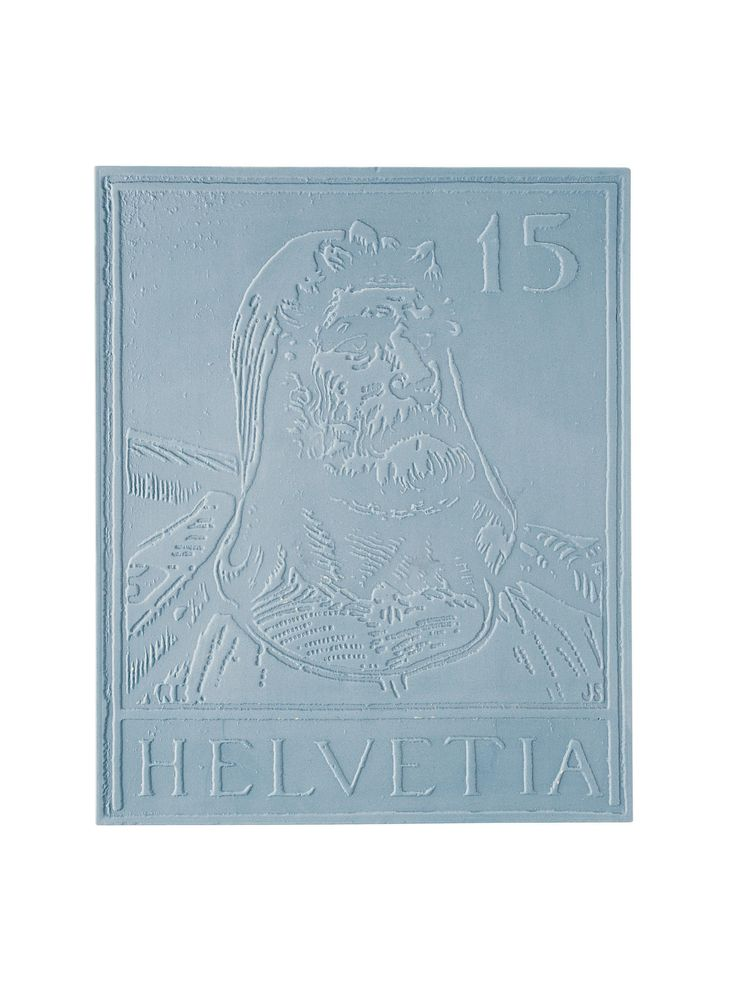 2012  LIMITED EDITION  reproduction with the original mould - STAMPS item collectible design Michele Provinciali