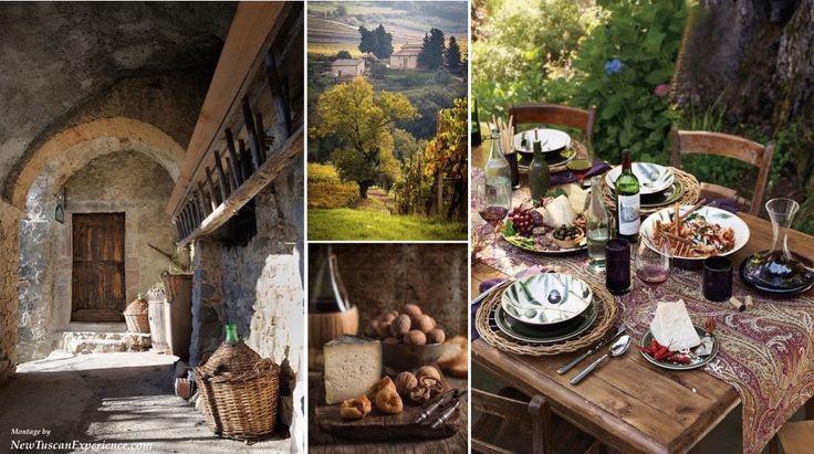 Al Fresco Dining in Tuscany