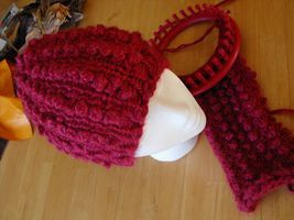 comment tricoter une tuque avec un tricotin