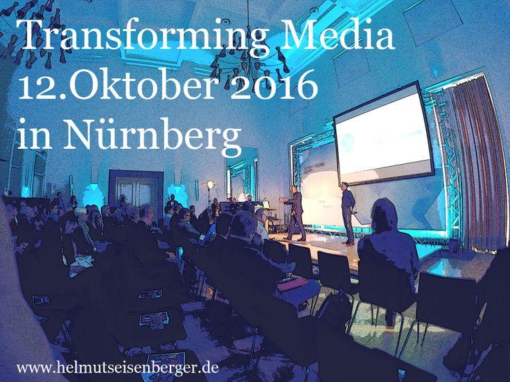 Mein Besuch der Transforming Media 2016 in Nürnberg