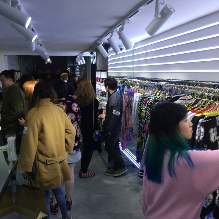 Joyrich Hong Kong store opening ...