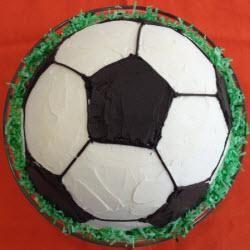 #Fussballkuchen für kleine und große Kicker :-)  http://de.allrecipes.com/rezept/11942/fu-ballkuchen.aspx