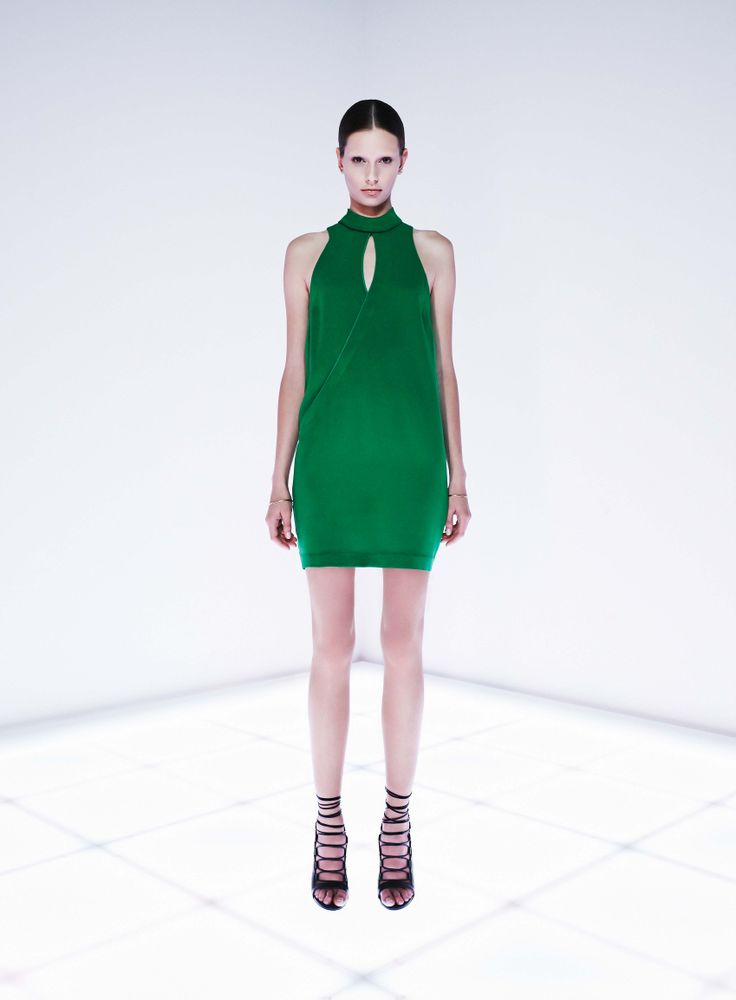 Typology Dress by CAMILLA AND MARC http://www.camillaandmarc.com/topology-dress-green.html