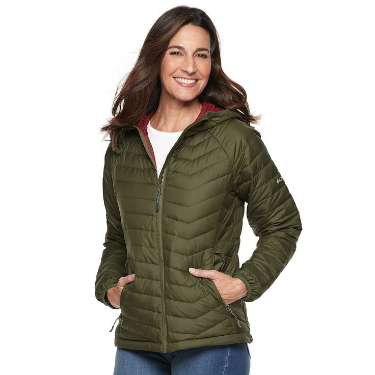 Women's Columbia Oyanta Trail Hooded Insulated Jacket ...