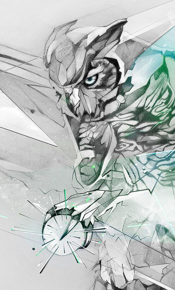 Great Horned Owl Illustration | Abduzeedo Design Inspiration