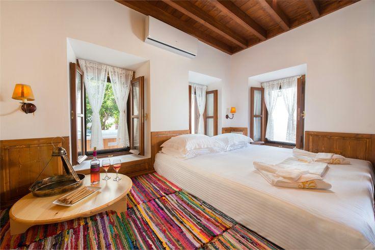 Rodon bedroom Luxury Villa Eftihia in the heart of Lindos