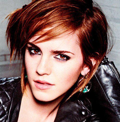 Emma Watson: Short Hair • #hair #ShortHair