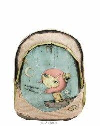 Ergonomic Backpack, Soft Construction - Adrift, Santoro's Mirabelle