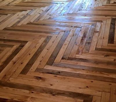 Best 25 wood pallet flooring ideas on pinterest pallet for What can you make with recycled pallets