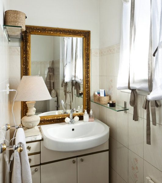 337 Best Images About Home Small Bathrooms On Pinterest Toilets Medicine Cabinets And White Tiles
