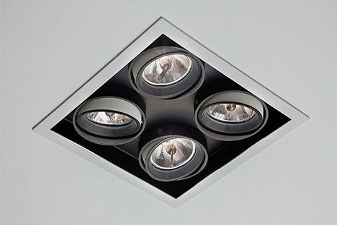 SAMBA Embutido orientável com sistema de giro orbital, com tecnologia LED integrada ou lâmpadas convencionais. Uso interno. Corpo em alumínio com acabamento em pintura pó epóxi por processo eletroestático. Anel antiofuscante e blackout pretos. Os modelos LED incluem driver.  #lightdesignexporlux #lightingdesign #iluminacao #luminarias #lightdesign