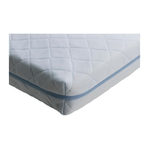 """VYSSA VINKA Mattress for small bed IKEA Product dimensions  Length: 63 """"  Width: 27 1/2 """"  Thickness: 4 3/4 """"  Length: 160 cm  Width: 70 cm  Thickness: 12 cm"""