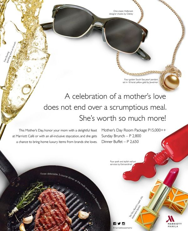 Celebrate Mother's Day at Marriott Manila   Health Junkie