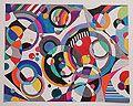 Geometric modern artwork. Геометрическая живопись. Проекты