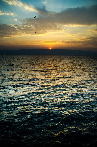 Sunrise on the Sea of Galilee | by jenny.whitcher
