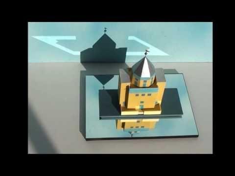 Aldo Rossi, Teatro del Mondo, scale model 1:200