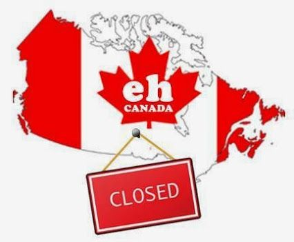 cktechconnect inc - Google+ #Canada is closed. We are all watching #hockey #GoCanadaGo