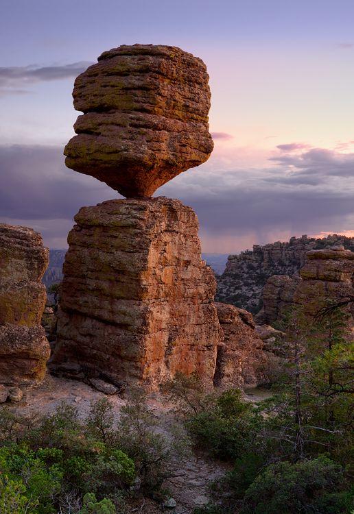 Chiricahau National Monument In Arizona In 2019