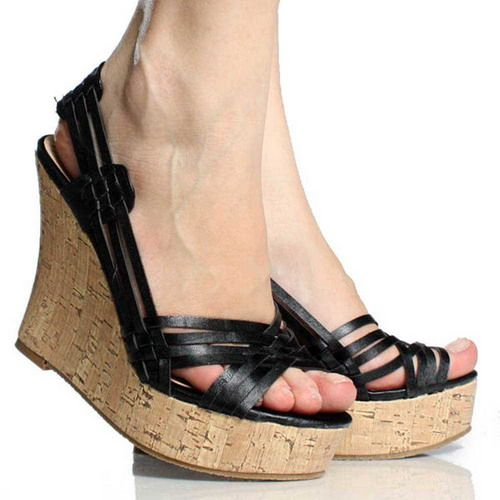 Delicate Ladies Wedge Shoes - http://ikuzoladyshoes.com/delicate-ladies-wedge-shoes/