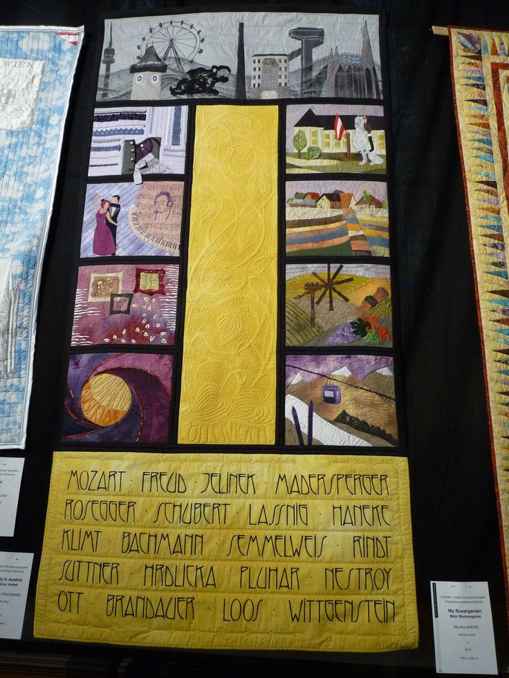Quiltgruppe Steiermark - Diversity in Austria: Textile Impressions from Austria - Austria was the European Guest country