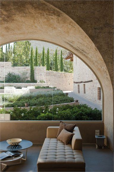 spa museum Hotel ASSISI, Italy 2011 - Chiara Gazziero amazing living room