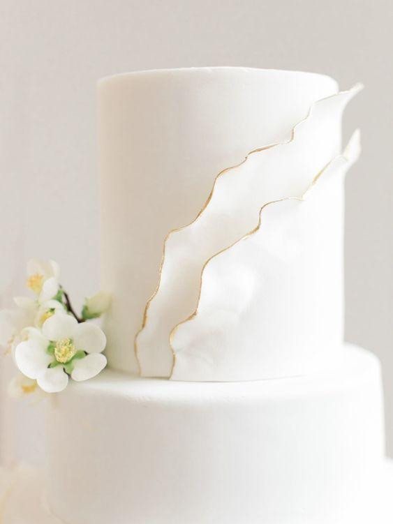 Weiß, rein und perfekt! | Hochzeiten | Hochzeitstorten | Hochzeitstorte Inspiration | …   – Wedding Cakes