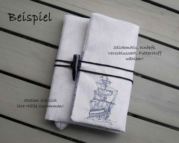 Federtaschen & Mäppchen - Kalenderhülle Organizer Mäppchen  A6 / A5 ab 39 € - ein Designerstück von Zwirnbaendiger bei DaWanda