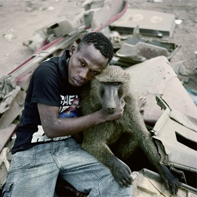 Garuba Yawu with Mora, Ogere-Remo, Nigeria 2007 A few days later I saw the image…