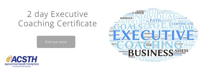 Ever thought about becoming an executive coach?  Do you have a lot to share?  Join our International Coaches Programs in Boston, www.aoecboston.com
