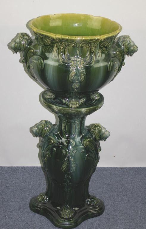 167 melhores imagens de art nouveau planters jardinieres with pedestals no pinterest art - Pedestal para plantas ...