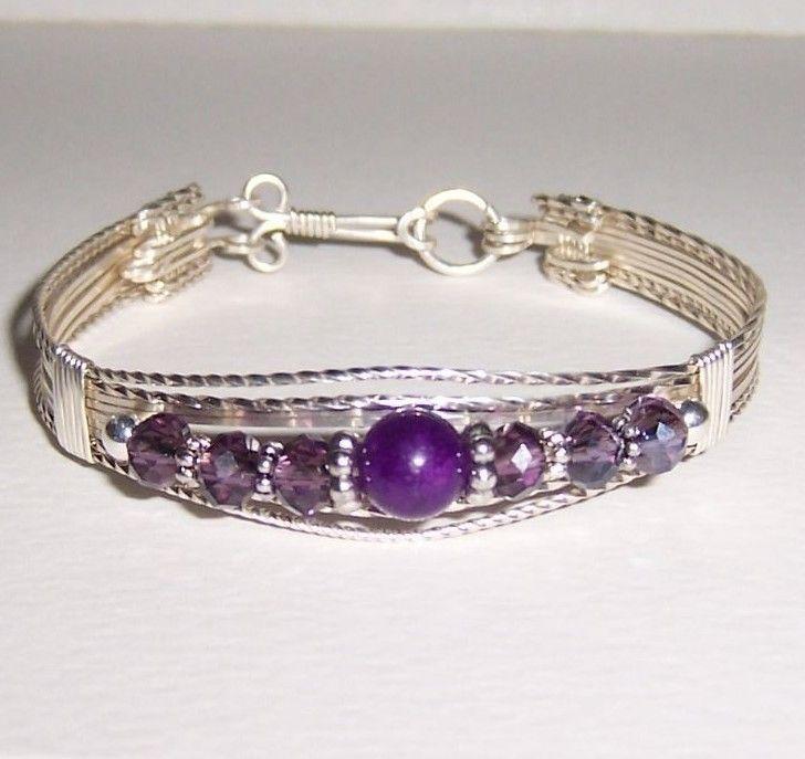 59 best Sterling Silver Bracelets images on Pinterest | Wire ...