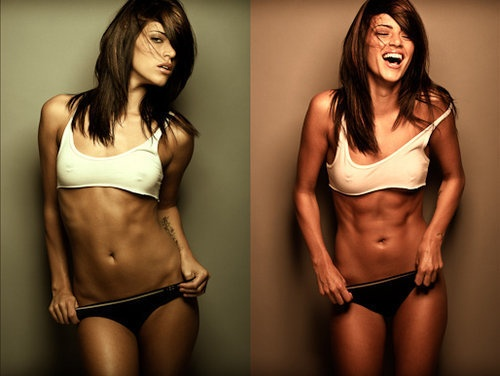 Missy Peregrym from Stick It. Horrible movie but gets me motivated to ...