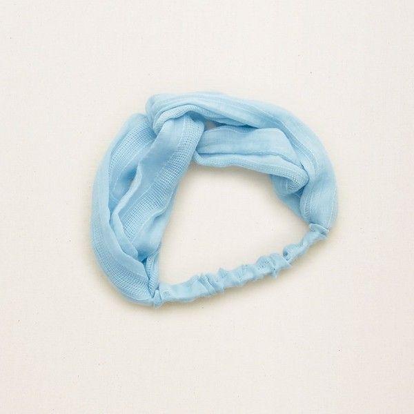 Aerie Twist Headband Twist Headband Stretchy Headbands Blue Hair Accessories